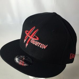 Houston Rockets 9FIFTY Hat SnapBack Logo Spellout